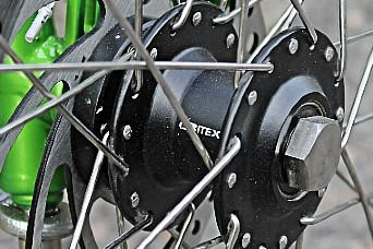 Introduction of narrow trike hubs designed with Bitex, DH12N